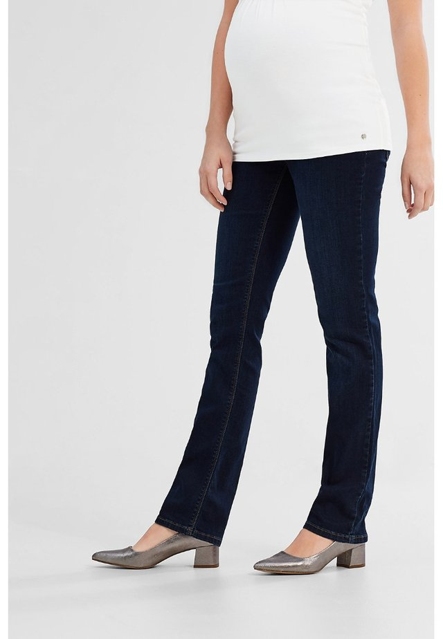 Jeans Straight Leg - dark-blue denim
