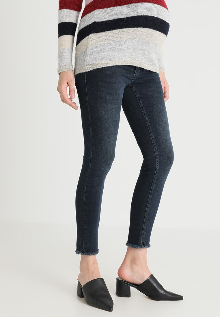 Esprit Maternity - PANTS 7/8 - Jeans slim fit - dark wash