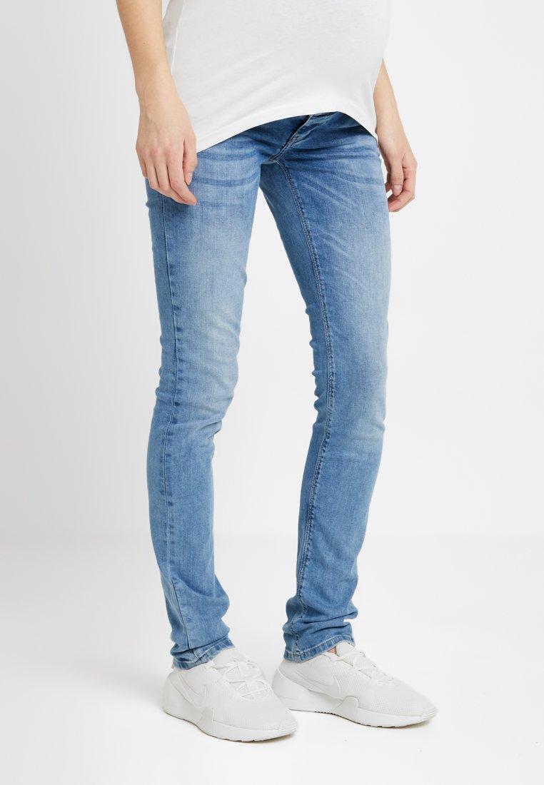 Esprit Maternity - PANTS SLIM - Jeans Skinny Fit - light blue denim