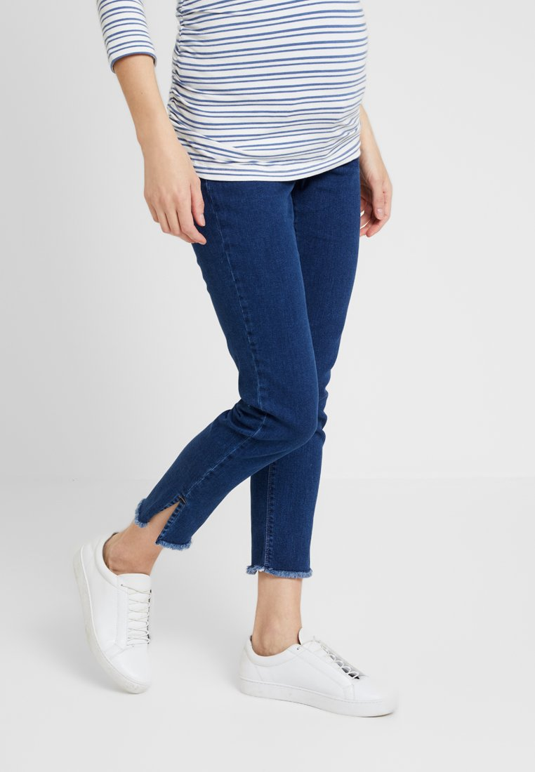 Esprit Maternity - PANTS 7/8 - Slim fit jeans - dark blue