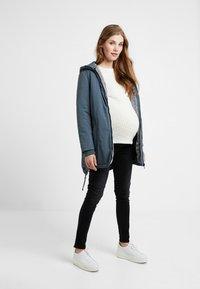 Esprit Maternity - Jeans Slim Fit - black darkwash - 2