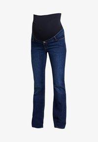 Esprit Maternity - PANTS - Bootcut jeans - darkwash - 3