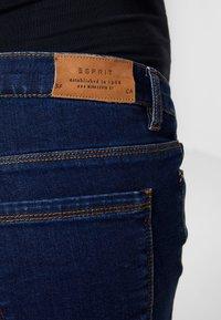 Esprit Maternity - PANTS - Bootcut jeans - darkwash - 4