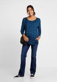 Esprit Maternity - PANTS - Bootcut jeans - darkwash - 1