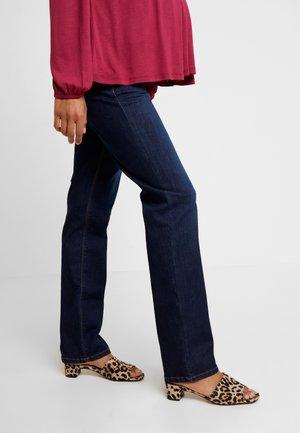 Straight leg jeans - darkwash