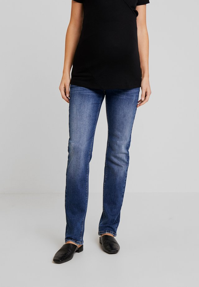 PANTS - Jeans Straight Leg - medium wash