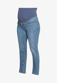 Esprit Maternity - PANTS - Jeans Slim Fit - blue grey wash - 3