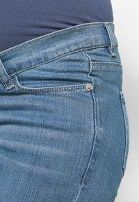 Esprit Maternity - PANTS - Jeans Slim Fit - blue grey wash - 4