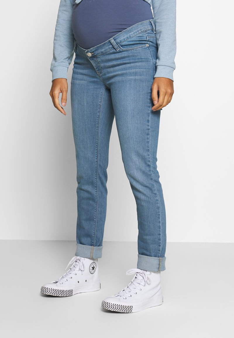 Esprit Maternity - PANTS - Jeans Slim Fit - blue grey wash