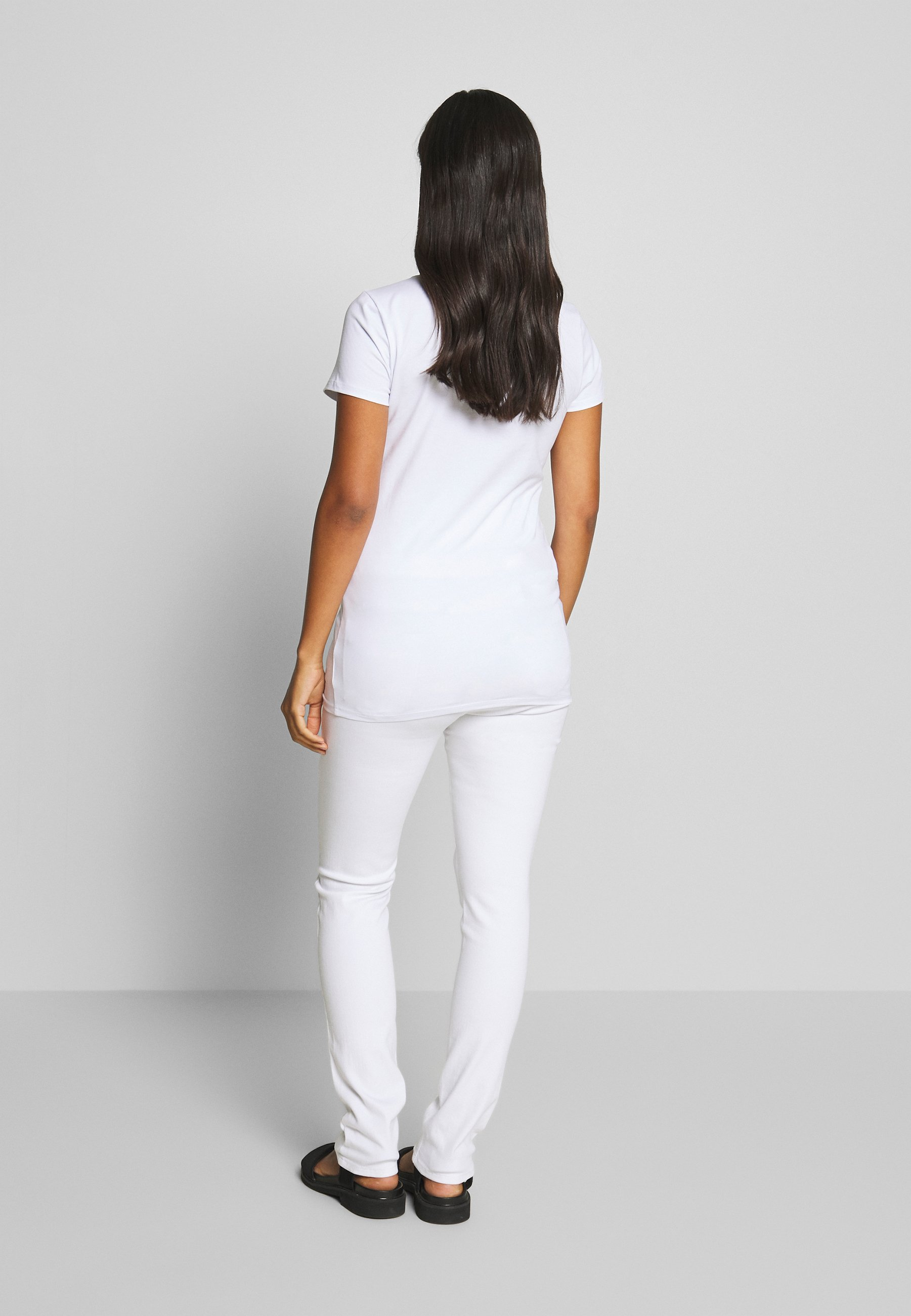 Esprit Maternity Pants - Jeans Slim Fit White 7czWf