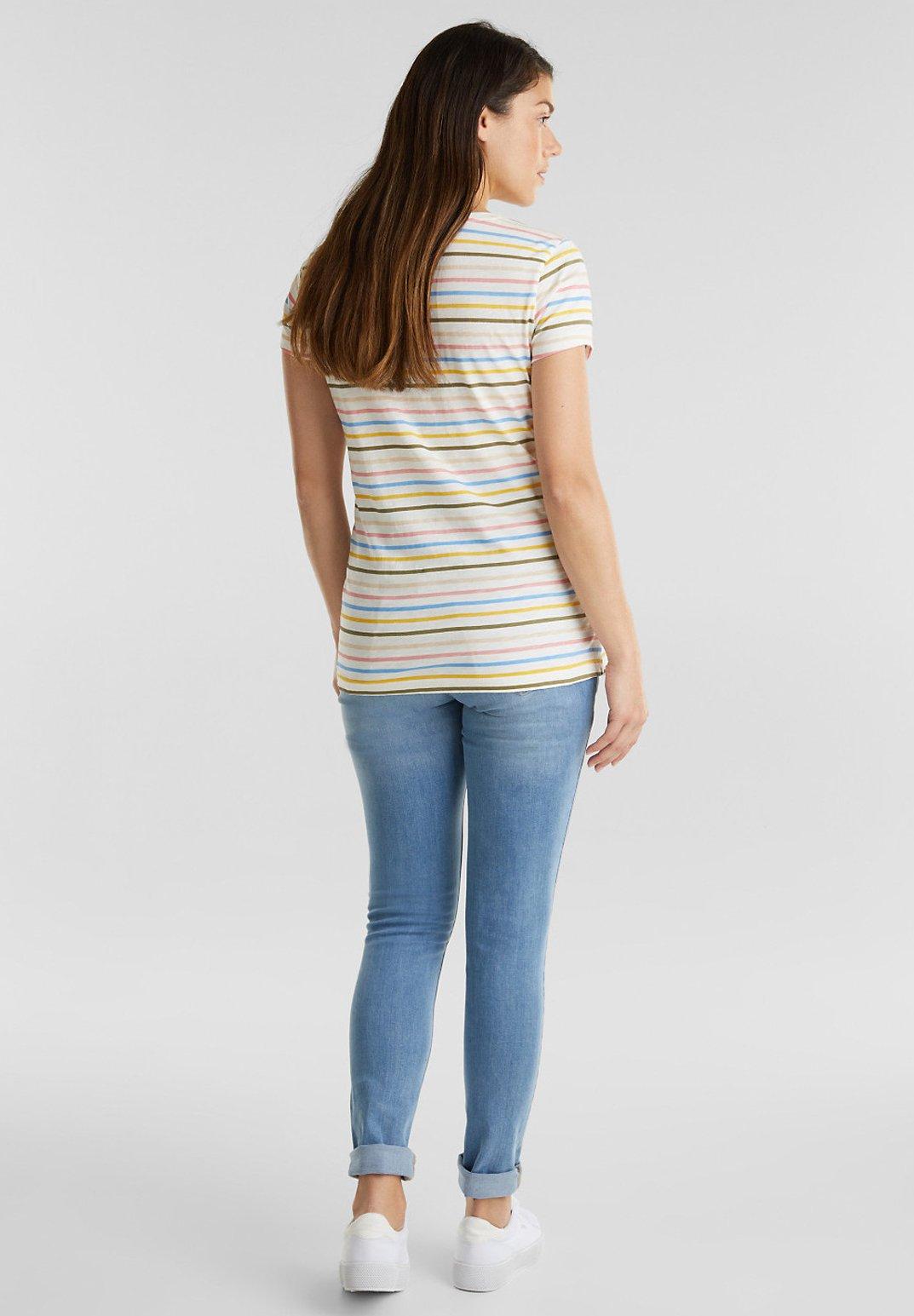 Esprit Maternity Fashion Denim - Jeans Slim Fit Blue Light Washed