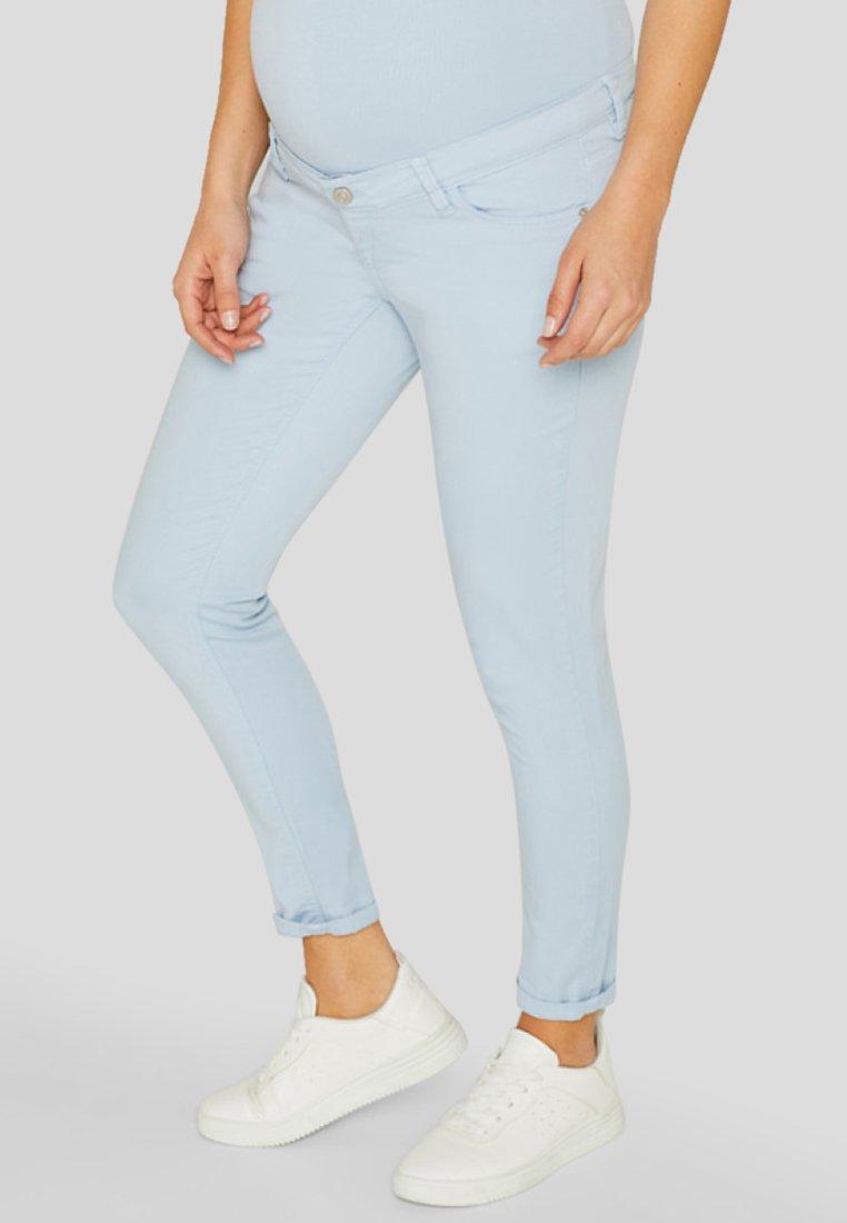 Esprit Maternity - PANTS 7/8 - Jean slim - light blue