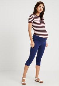 Esprit Maternity - CAPRI - Leggings - Trousers - dark blue - 1