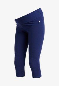 Esprit Maternity - CAPRI - Leggings - Trousers - dark blue - 3