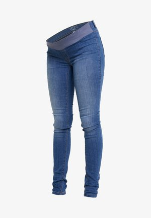 Farkkuleggingsit - blue medium washed