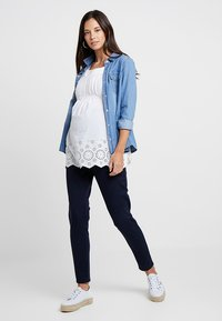 Esprit Maternity - PANTS - Slim fit jeans - night blue - 1