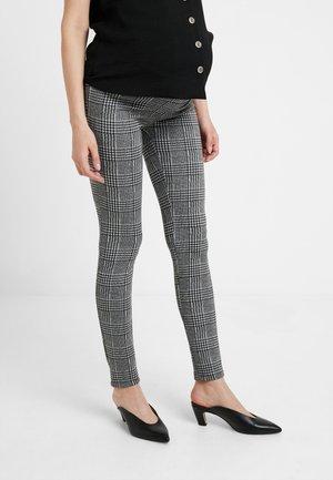 PANTS CHECK - Pantalon classique - black