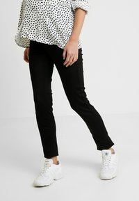 Esprit Maternity - PANTS SLIM - Straight leg jeans - black - 0