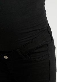 Esprit Maternity - PANTS SLIM - Straight leg jeans - black - 4