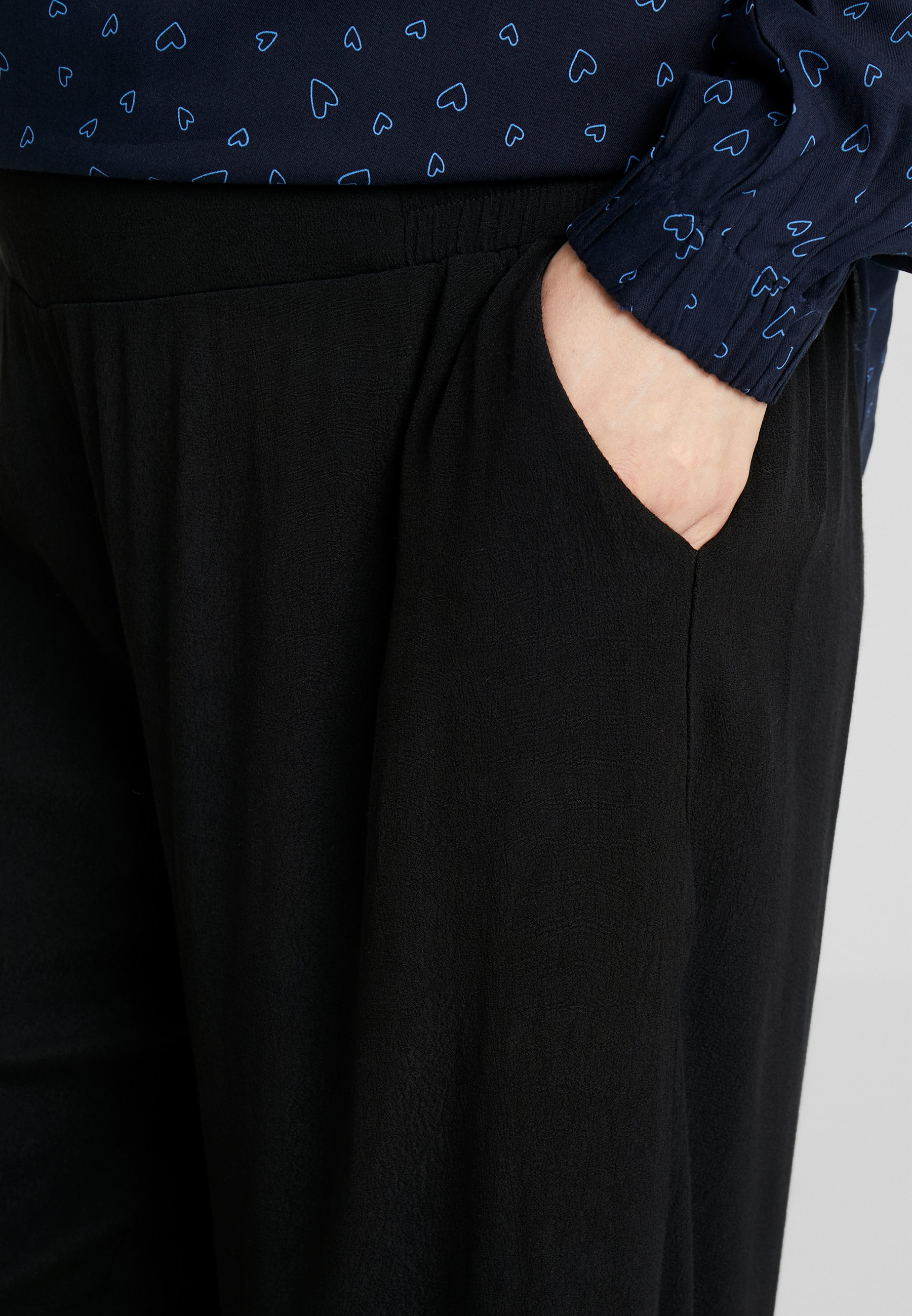 Esprit Maternity PANTS CULOTTE - Szorty - black