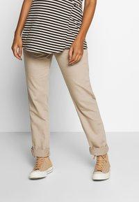 Esprit Maternity - PANTS - Spodnie materiałowe - beige - 0