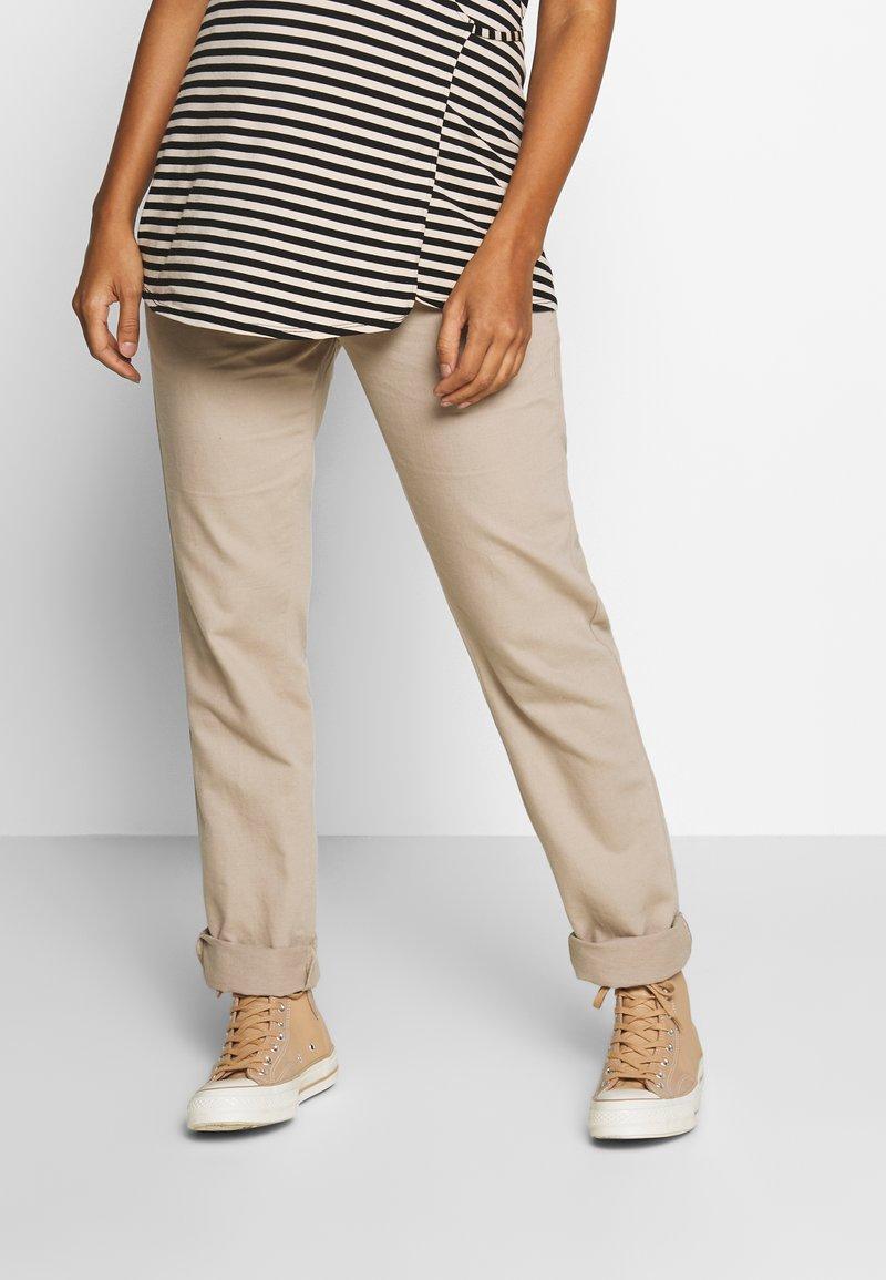 Esprit Maternity - PANTS - Spodnie materiałowe - beige