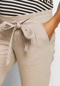 Esprit Maternity - PANTS - Spodnie materiałowe - beige - 4