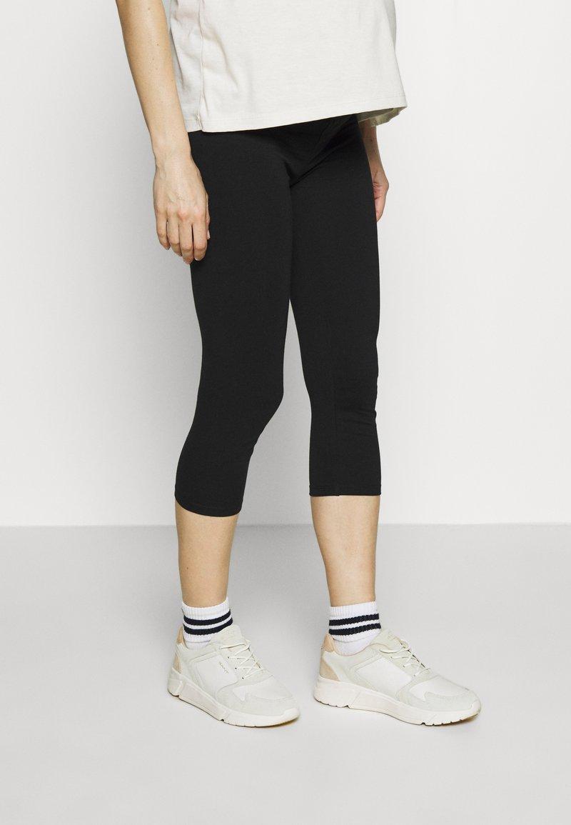 Esprit Maternity - CAPRI - Leggings - Trousers - black