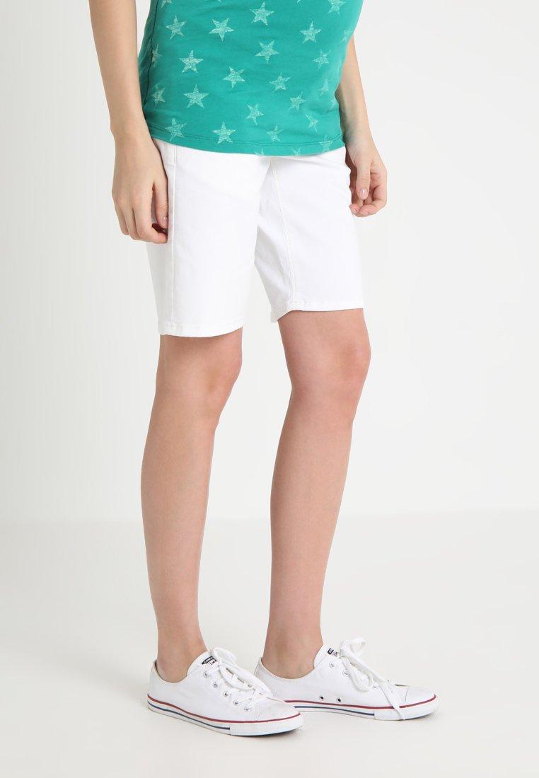 Esprit Maternity - BERMUDA  - Shorts - white