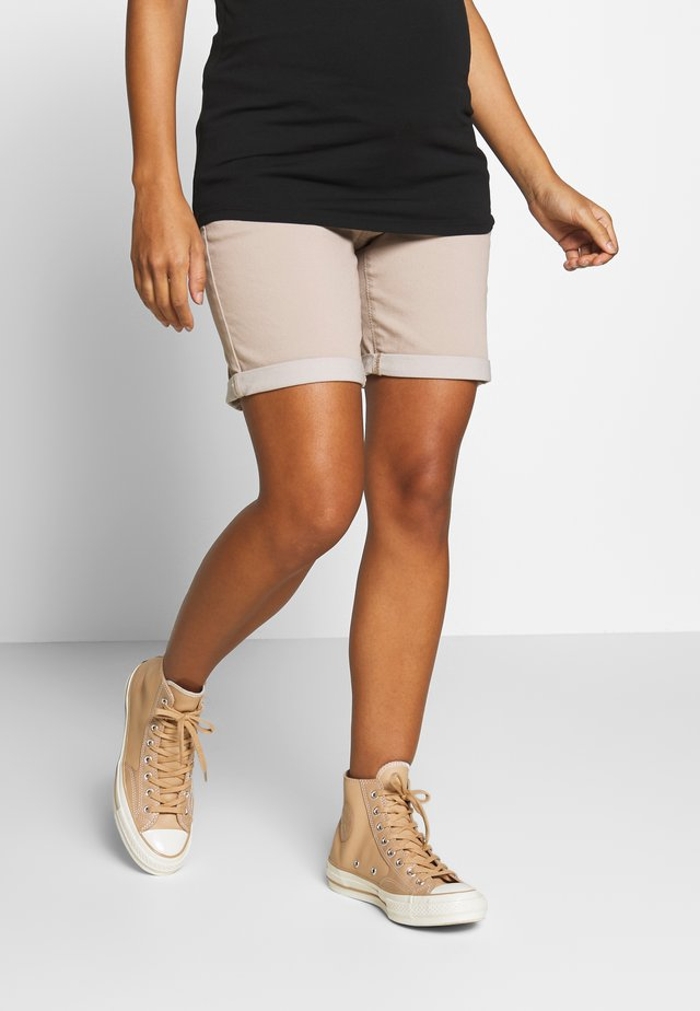 SHORTS OTB - Szorty - beige