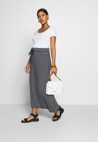 Esprit Maternity - SKIRT LONG - Maxi skirt - night blue