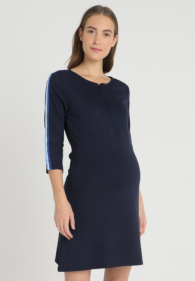 DRESS NURSING 3/4 - Jerseyjurk - night blue