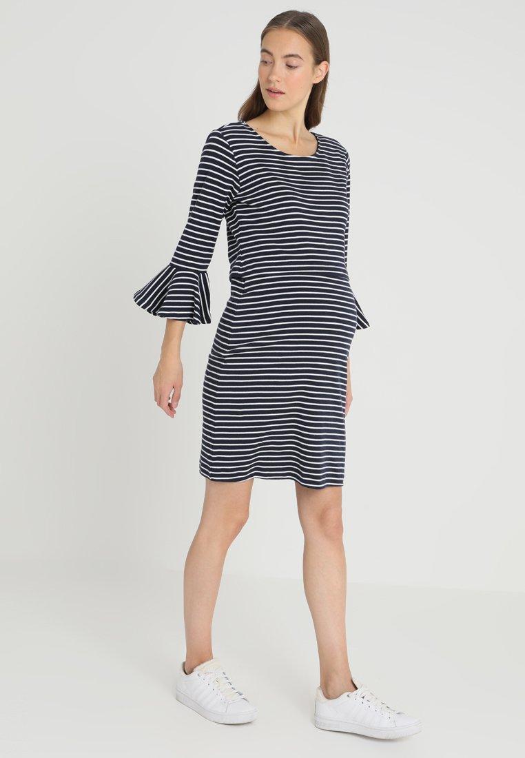 Esprit Maternity - DRESS NURSING 3/4 SUSTAINABLE - Jerseyjurk - night blue