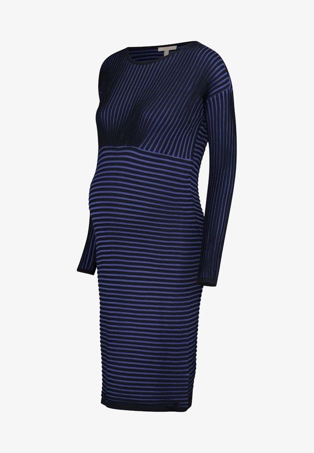 Gebreide jurk - night blue