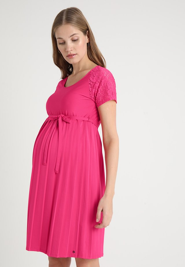 DRESS - Jerseykleid - pink fuchsia