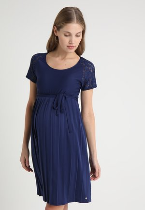 DRESS - Jersey dress - dark blue