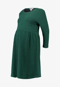 Esprit Maternity - DRESS NURSING 3/4 - Jerseykleid - bottle green - 5