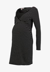 Esprit Maternity - DRESS NURSING - Vestido ligero - black - 5