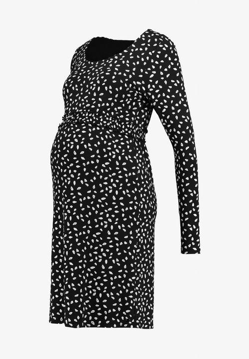 85% ZNIŻKI Esprit Maternity DRESS - Sukienka z dżerseju - night blue Odzież Damska Sukienki TWDH-MP1
