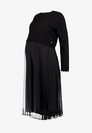DRESS MIX NURSING  - Day dress - black