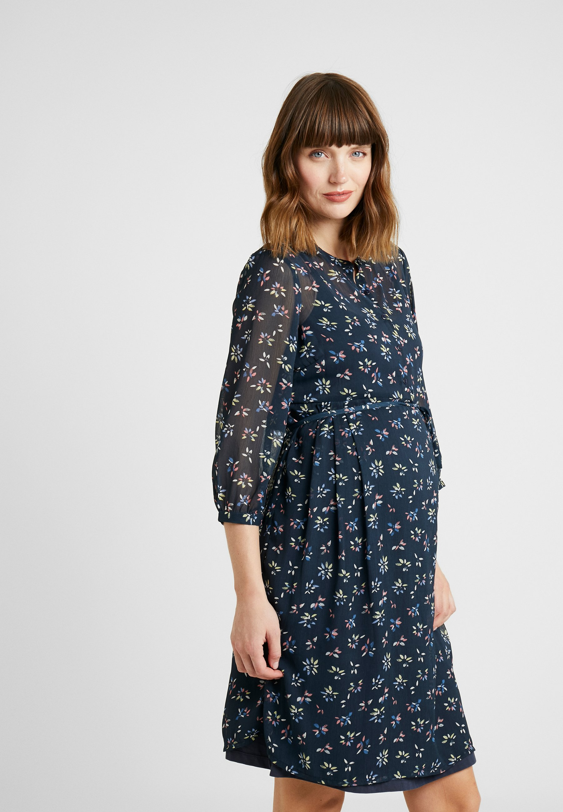 Esprit Maternity DRESS 3/4 - Vardagsklänning - night blue