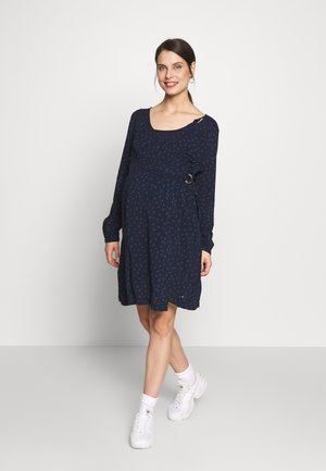 DRESS NURSING - Day dress - night blue