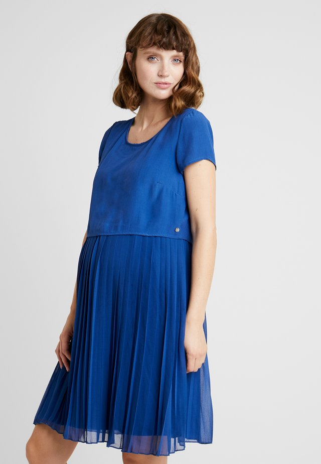 DRESS MIX NURSING - Freizeitkleid - bright blue