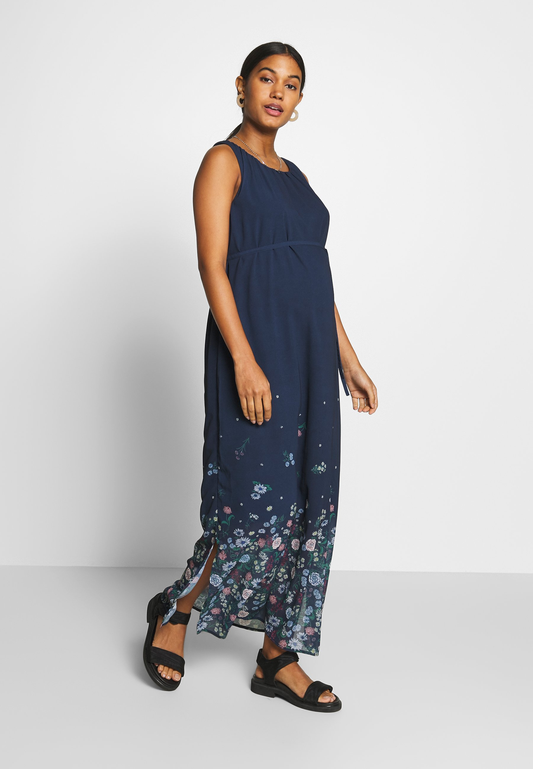 Esprit Maternity Dress - Maxi-jurk Night Blue gUfOzjM