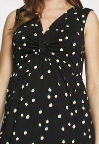Esprit Maternity - DRESS - Długa sukienka - black - 5