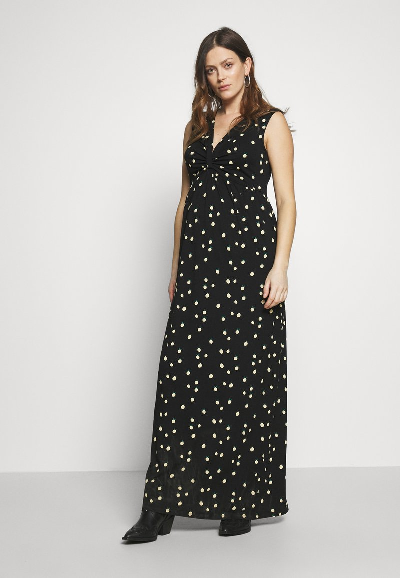 Esprit Maternity - DRESS - Długa sukienka - black