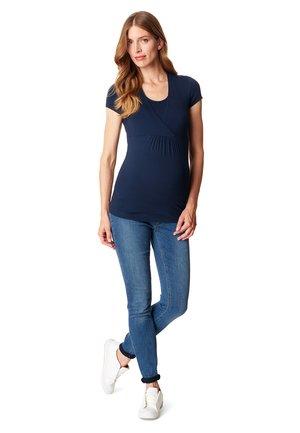 T-shirt - bas - night blue