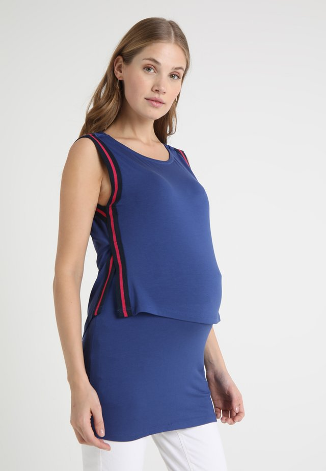 NURSING - Top - dark blue