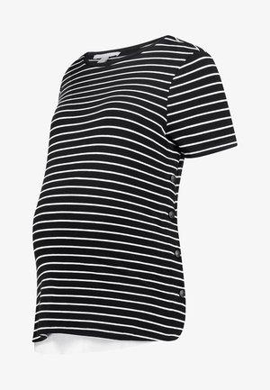 NURSING - T-shirt med print - black