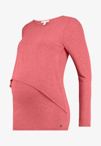 Esprit Maternity - NURSING - Langærmede T-shirts - red - 4
